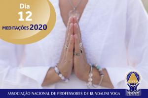 Meditações 2020<BR>Dia 12