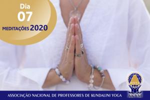 Meditações 2020<BR>Dia 07