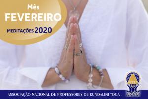 Meditações 2020<BR>Fevereiro