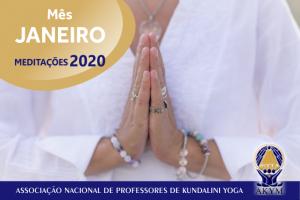 Meditações 2020<BR>Janeiro