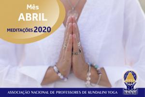 Meditações 2020<BR>Abril