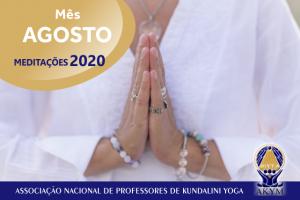 Meditações 2020<BR>Agosto