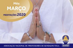 Meditações 2020<BR>Março